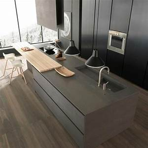 Küche Mit Kochinsel : moderne graue k che mit kochinsel k che pinterest kitchens interiors and modern living ~ Sanjose-hotels-ca.com Haus und Dekorationen