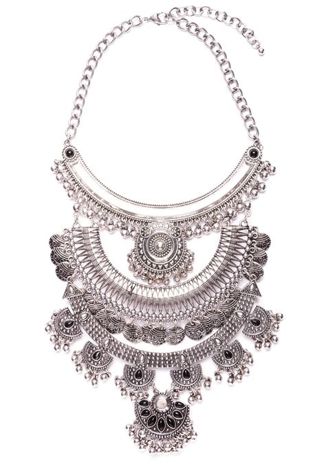 gypsy statement necklace happiness boutique