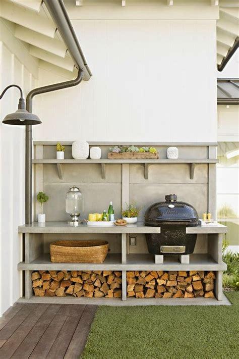 outdoor kitchen storage 15 creative outdoor firewood rack and storage ideas you 1308