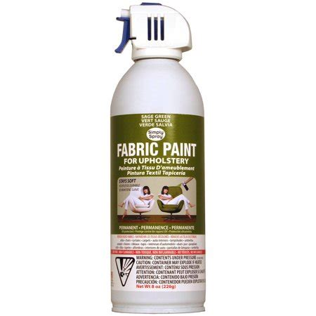 Upholstery Fabric Paint Walmart by Upholstery Spray Fabric Paint 8oz Green Walmart