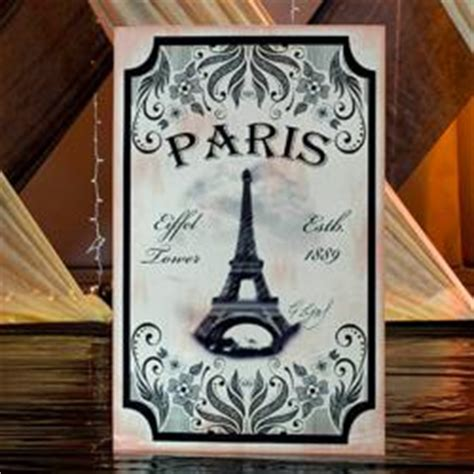Vintage France  A Fresh Style For Parisian Parties