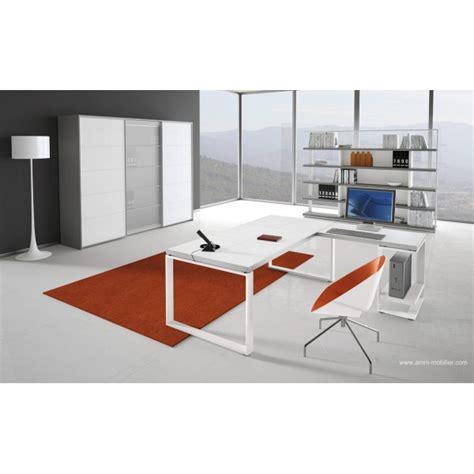 fabricant canapé italien bureau de direction archimède finition cuir blanc par alea