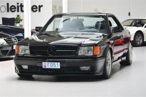 Mercedes 500 Sec 5.4 Amg Widebody C126 1984