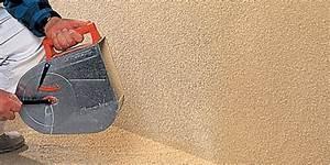 Enduit De Lissage Brico Depot : comment prot ger une fa ade avec un enduit tyrolien ~ Dailycaller-alerts.com Idées de Décoration