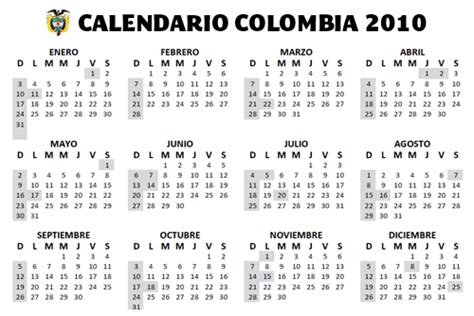 golden pictures calendario  colombia  imprimir