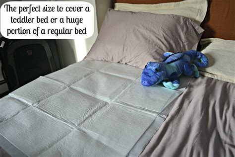 Goodnites Disposable Bed Mats by Testers Travel Genius Goodnites Disposable Bed Mats