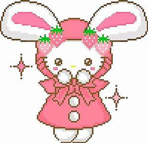 Cute Bunny Pixel Minecraft Project