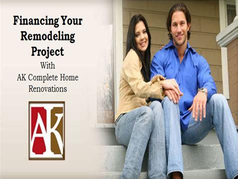 home improvement loans  remodeling  ak