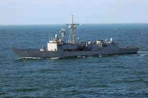 US Navy Guided Missile Frigate