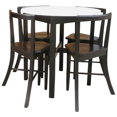 Set Of Small Table Ls by Small Contoured Dining Set At 1stdibs