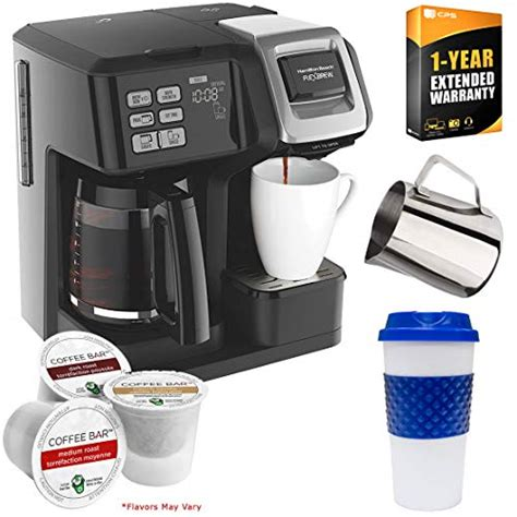 Failure to allow coffee maker to cool down may cause all coffee makers should be cleaned at least once a hot water or coffee to spray from the piercing nozzle. Hamilton Beach 49976 FlexBrew 2-Way Coffee Maker (Black) Bundle with Deco Gear Kitchen & Single ...