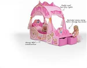 Disney Princess Carriage Toddler Bed