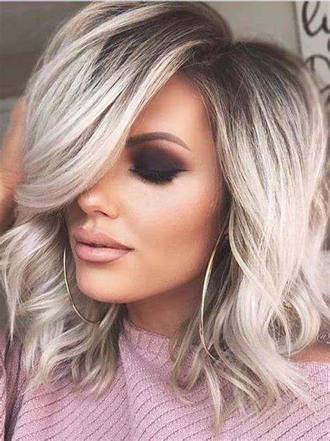 perfect medium blonde hairstyles trends   hair