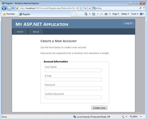 Aspx Net Templates Scottgu S Starter Project Templates Vs 2010 And