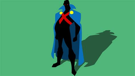 fixed minimal martian manhunter wallpaper  cheetashock