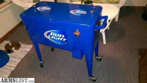 armslist for sale bud light deck or patio cooler with
