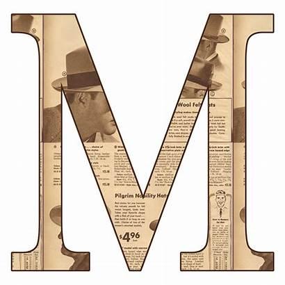 Letter Letters Alphabet Scrapbook Newsprint Fhdq Digi