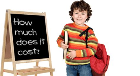 how much does private preschool cost baptist of after school program 424