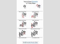How to Draw Gyarados Pokemon