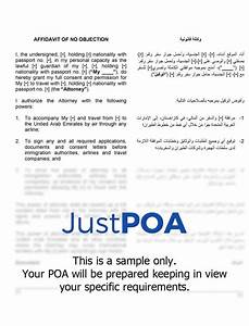 Poa For Child Power Of Attorney For Child Travel