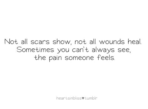 Quotes About Emotional Scars. Quotesgram