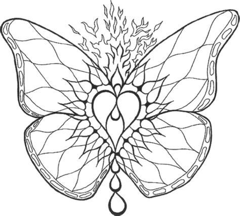Mandalas Papillon #3 (mandalas)  Coloriages à Imprimer
