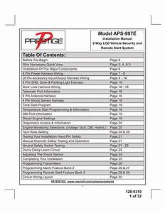 Audiovox Prestige Aps997c Wiring Diagram