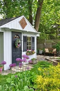 10 idées pour décorer votre abri de jardin BricoBistro