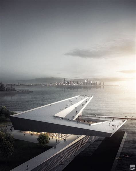 Design proposal by Skidmore Owings & Merrill for Obama's