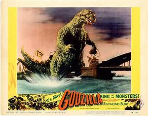 Godzilla 1956 set #2 / Issue #5 | Posters Details | Four ...