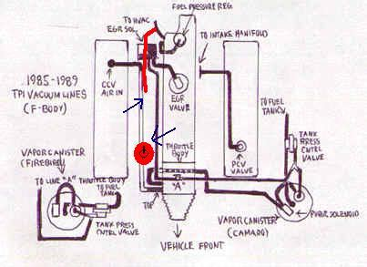 Routing Vacuum Hoses Have Modified Diagram Third