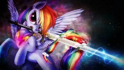 Pony Wings Magic Friendship Rainbow Dash Pegasus