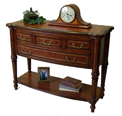 Buffet Console by Traditional Hallway Console Table Or Buffet