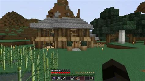 minecraft modern valley house  building tips youtube