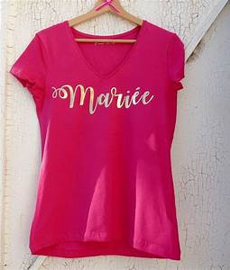 Papier Transfert Tee Shirt : 11 best tshirt et pull evjf images on pinterest ~ Melissatoandfro.com Idées de Décoration