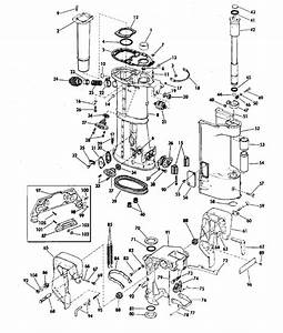 Johnson Lower Unit Group Electric Shift Parts For 1970