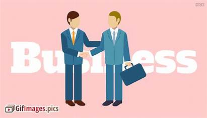 Business Professional Corporate Handshake Animated