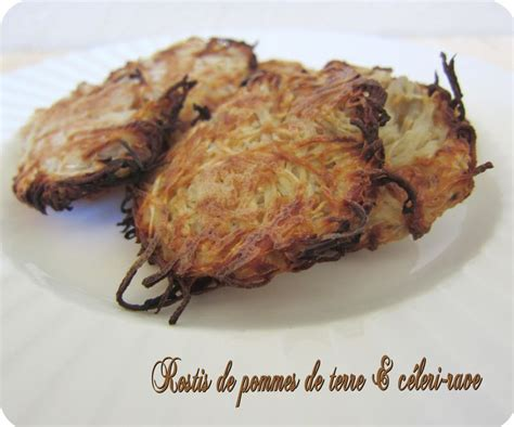 cuisine celeri rostis de pomme de terre céleri cuisine et