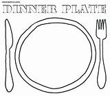Plate Coloring Pages Dinner Seder Dishes Sheet Colouring Template Sc St Thanksgiving Printable Colorings Getcolorings Empty sketch template