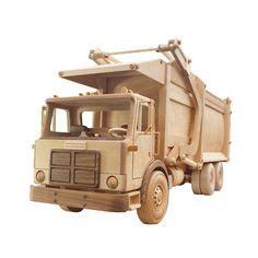 kustom wood toy truck  train building kit  step