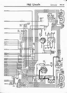 1964 Lincoln Continental Convertible Wiring Diagram  Black