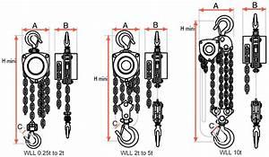 Tralift Hand Chain Hoist  250kg To 20 000kg  Tractel