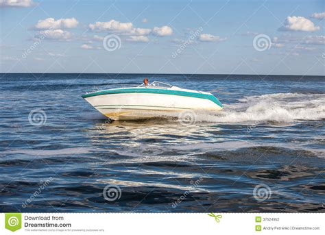 Driving Boat In Dream by Man Driving A Fast Boat Stock Photography Image 37524952