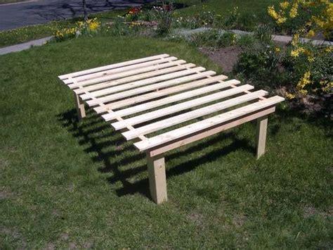 How To Make A Cheap Platform Bed