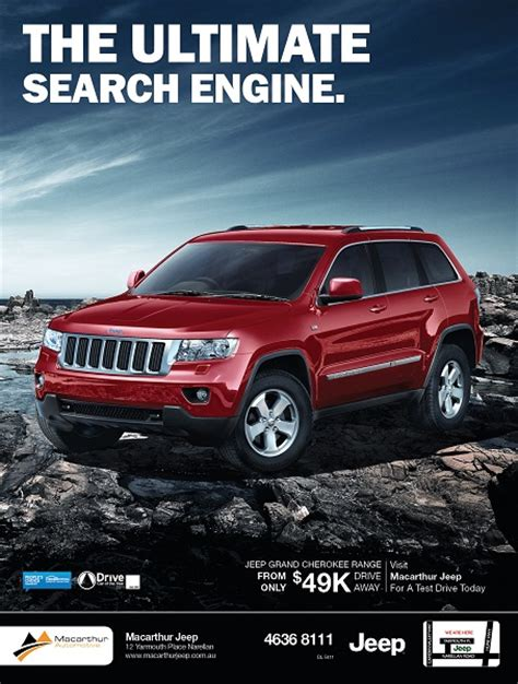 jeep cherokee ads s l a n t automotive advertising what 39 s old is new