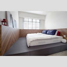Bed On Platform  Interior Design Singapore Interior