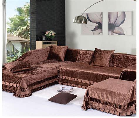 making slipcovers for sofa making sectional slipcovers homesfeed