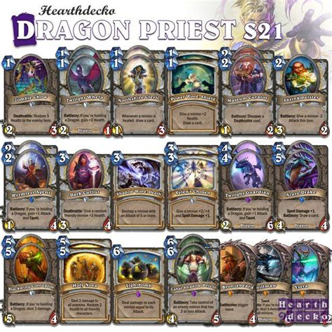 Priest Deck Hearthpwn Basic by 52 Best Images About Hearthstone Priest Decks On