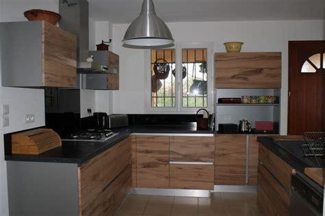 cuisine moderne en bois massif cuisiniste à maillane 13 cuisine moderne en chêne