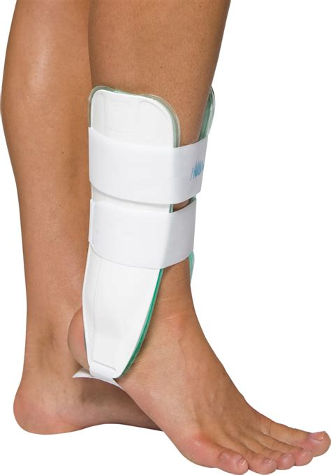 aircast a60 ankle support brace right foot black medium shoe size s 7 5